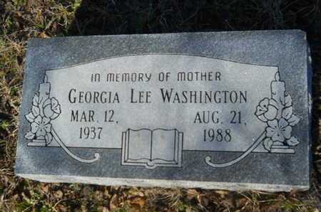 WASHINGTON, GEORGIA LEE - Lincoln County, Louisiana | GEORGIA LEE WASHINGTON - Louisiana Gravestone Photos