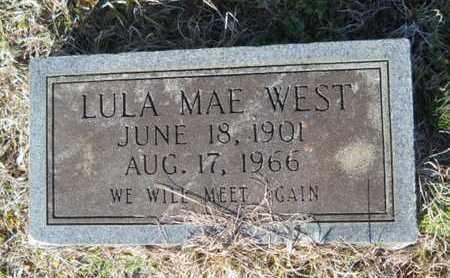WEST, LULA MAE - Lincoln County, Louisiana   LULA MAE WEST - Louisiana Gravestone Photos