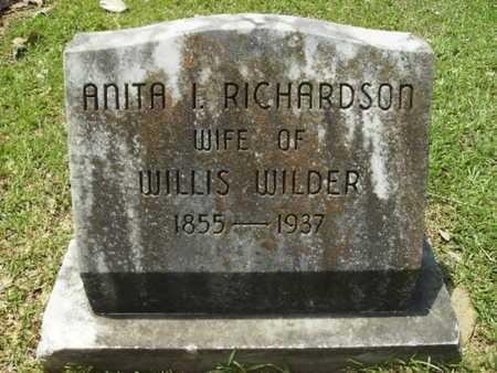 WILDER, ANITA IRENE - Lincoln County, Louisiana | ANITA IRENE WILDER - Louisiana Gravestone Photos
