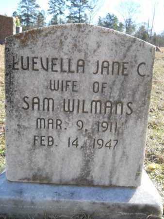 WILLIAMS, LUEVELLA JANE C - Lincoln County, Louisiana   LUEVELLA JANE C WILLIAMS - Louisiana Gravestone Photos