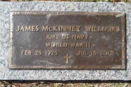 WILLIAMS, JAMES MCKINNEY (VETERAN WWII) - Lincoln County, Louisiana | JAMES MCKINNEY (VETERAN WWII) WILLIAMS - Louisiana Gravestone Photos