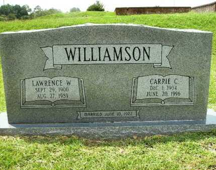 WILLIAMSON, CARRIE C - Lincoln County, Louisiana | CARRIE C WILLIAMSON - Louisiana Gravestone Photos
