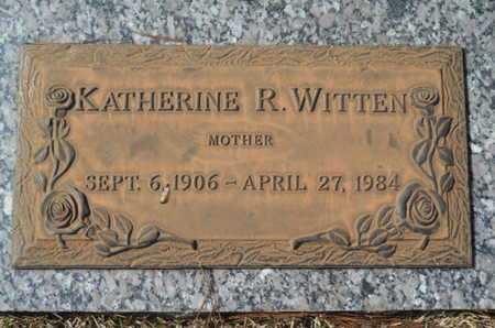 WITTEN, KATHERINE R - Lincoln County, Louisiana | KATHERINE R WITTEN - Louisiana Gravestone Photos