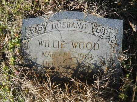 WOOD, WILLIE - Lincoln County, Louisiana | WILLIE WOOD - Louisiana Gravestone Photos
