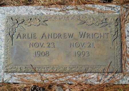 WRIGHT, ARLIE ANDREW - Lincoln County, Louisiana | ARLIE ANDREW WRIGHT - Louisiana Gravestone Photos