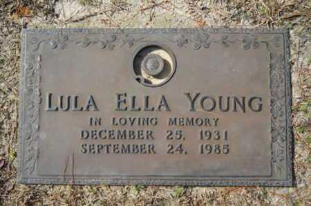 YOUNG, LULA ELLA - Lincoln County, Louisiana | LULA ELLA YOUNG - Louisiana Gravestone Photos
