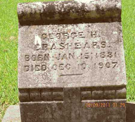 BRASHEARS, GEORGE H - Livingston County, Louisiana | GEORGE H BRASHEARS - Louisiana Gravestone Photos