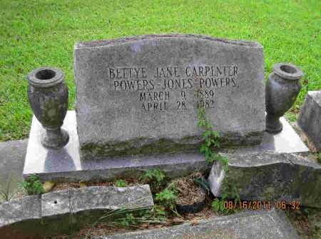 CARPENTER, BETTY JANE - Livingston County, Louisiana | BETTY JANE CARPENTER - Louisiana Gravestone Photos