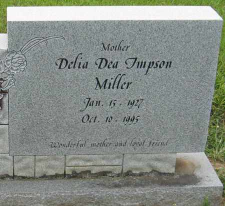 MILLER, DELIA DEA - Livingston County, Louisiana   DELIA DEA MILLER - Louisiana Gravestone Photos