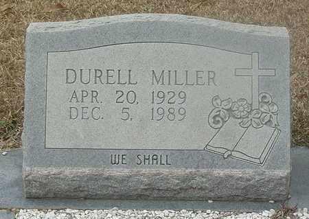 MILLER, DURELL - Livingston County, Louisiana | DURELL MILLER - Louisiana Gravestone Photos