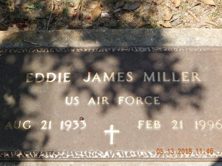 MILLER  , EDDIE JAMES  (VETERAN) - Livingston County, Louisiana | EDDIE JAMES  (VETERAN) MILLER   - Louisiana Gravestone Photos
