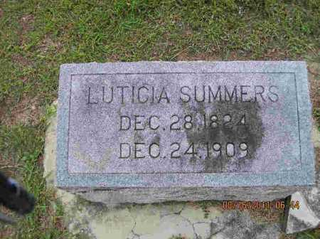 SUMMERS, LUTICIA - Livingston County, Louisiana | LUTICIA SUMMERS - Louisiana Gravestone Photos