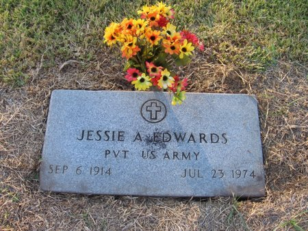 EDWARDS, JESSIE ARNOLD  (VETERAN WWII) - Madison County, Louisiana | JESSIE ARNOLD  (VETERAN WWII) EDWARDS - Louisiana Gravestone Photos