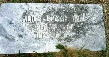 BELL, ALICE LOUISE - Morehouse County, Louisiana | ALICE LOUISE BELL - Louisiana Gravestone Photos