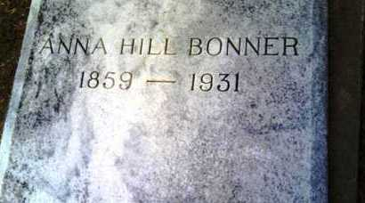 HILL BONNER, ANNA - Morehouse County, Louisiana | ANNA HILL BONNER - Louisiana Gravestone Photos
