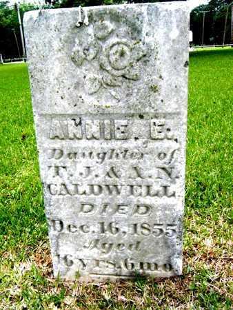 CALDWELL, ANNIE E - Morehouse County, Louisiana   ANNIE E CALDWELL - Louisiana Gravestone Photos