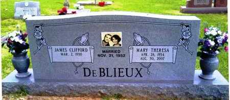 DE BLIEUX, MARY THERESA - Morehouse County, Louisiana | MARY THERESA DE BLIEUX - Louisiana Gravestone Photos