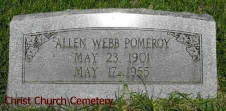 POMEROY, ALLEN WEBB - Morehouse County, Louisiana | ALLEN WEBB POMEROY - Louisiana Gravestone Photos