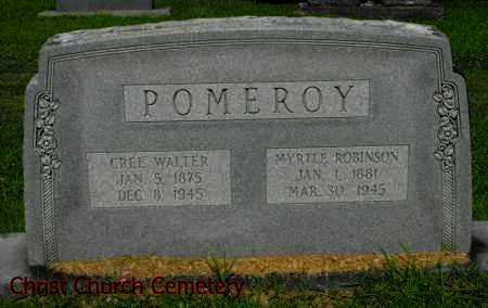 POMEROY, CREE WALTER - Morehouse County, Louisiana | CREE WALTER POMEROY - Louisiana Gravestone Photos