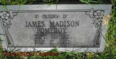 POMEROY, JAMES MADISON - Morehouse County, Louisiana | JAMES MADISON POMEROY - Louisiana Gravestone Photos
