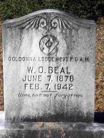 BEAL, W O - Natchitoches County, Louisiana   W O BEAL - Louisiana Gravestone Photos