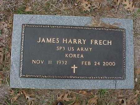 FRECH, JAMES HARRY  (VETERAN KOR) - Natchitoches County, Louisiana   JAMES HARRY  (VETERAN KOR) FRECH - Louisiana Gravestone Photos
