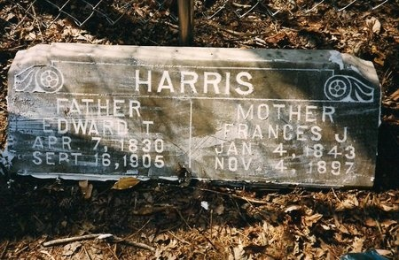 HARRIS, FRANCES JANE - Natchitoches County, Louisiana   FRANCES JANE HARRIS - Louisiana Gravestone Photos