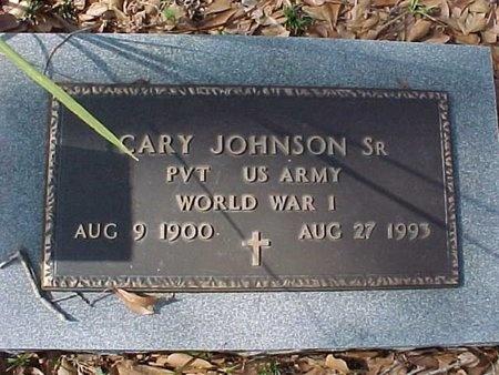 JOHNSON, CARY, SR (VETERAN WWI) - Natchitoches County, Louisiana | CARY, SR (VETERAN WWI) JOHNSON - Louisiana Gravestone Photos