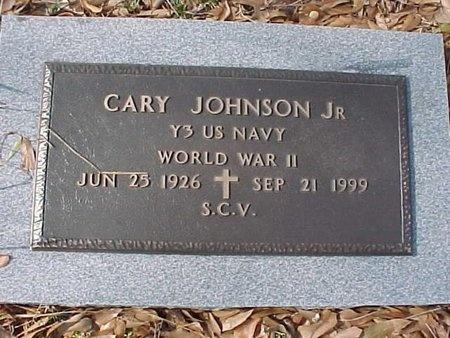 JOHNSON, CARY, JR (VETERAN WWII) - Natchitoches County, Louisiana | CARY, JR (VETERAN WWII) JOHNSON - Louisiana Gravestone Photos