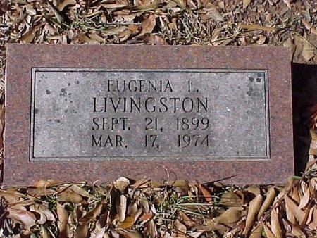 LIVINGSTON, EUGENIA L - Natchitoches County, Louisiana | EUGENIA L LIVINGSTON - Louisiana Gravestone Photos