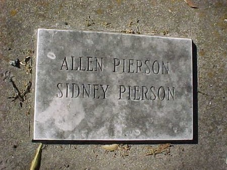 PIERSON, SIDNEY - Natchitoches County, Louisiana | SIDNEY PIERSON - Louisiana Gravestone Photos