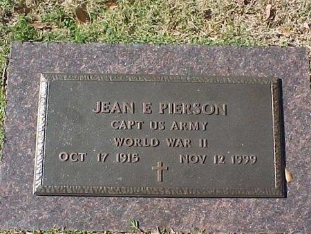 PIERSON, JEAN EDGERTON (VETERAN WWII) - Natchitoches County, Louisiana | JEAN EDGERTON (VETERAN WWII) PIERSON - Louisiana Gravestone Photos