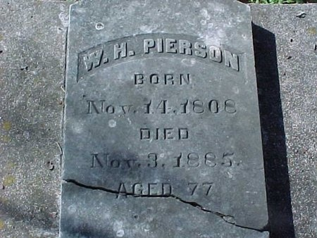 PIERSON, WILLIAM HENRY - Natchitoches County, Louisiana | WILLIAM HENRY PIERSON - Louisiana Gravestone Photos