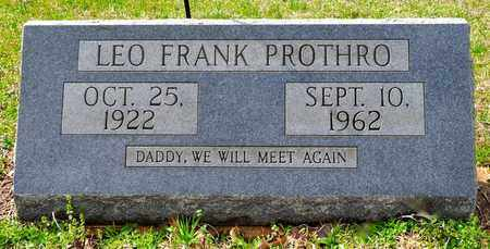 PROTHRO, LEO FRANK - Natchitoches County, Louisiana | LEO FRANK PROTHRO - Louisiana Gravestone Photos