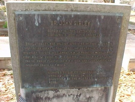 SIBLEY, JOHN  (VETERAN RW) - Natchitoches County, Louisiana | JOHN  (VETERAN RW) SIBLEY - Louisiana Gravestone Photos