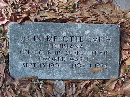 SMITH, JOHN MELOTTE (VETERAN WWI) - Natchitoches County, Louisiana | JOHN MELOTTE (VETERAN WWI) SMITH - Louisiana Gravestone Photos
