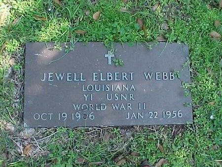 WEBB, JEWELL ELBERT (VETERAN WWII) - Natchitoches County, Louisiana | JEWELL ELBERT (VETERAN WWII) WEBB - Louisiana Gravestone Photos