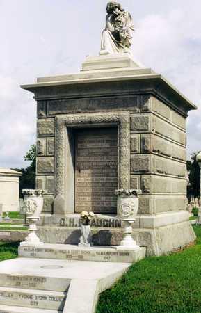 BRAUGHN - BROWN, MAUSOLEUM - Orleans County, Louisiana | MAUSOLEUM BRAUGHN - BROWN - Louisiana Gravestone Photos