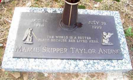 ANDING, MAMIE SKIPPER - Ouachita County, Louisiana | MAMIE SKIPPER ANDING - Louisiana Gravestone Photos