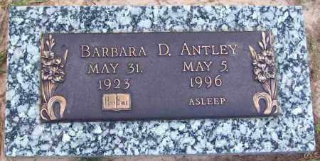 ANTLEY, BARBARA D - Ouachita County, Louisiana   BARBARA D ANTLEY - Louisiana Gravestone Photos