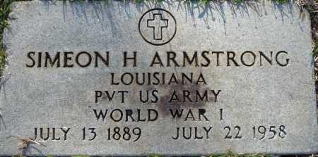 ARMSTRONG, SIMEON HUEY (VETERAN WWI) - Ouachita County, Louisiana | SIMEON HUEY (VETERAN WWI) ARMSTRONG - Louisiana Gravestone Photos