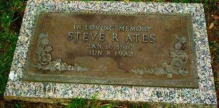 ATES, STEVE R - Ouachita County, Louisiana | STEVE R ATES - Louisiana Gravestone Photos