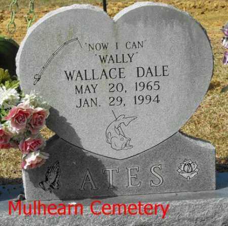 "ATES, WALLACE DALE  ""WALLY"" - Ouachita County, Louisiana | WALLACE DALE  ""WALLY"" ATES - Louisiana Gravestone Photos"