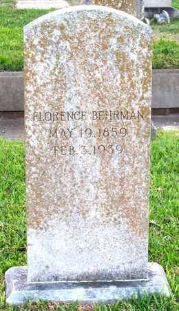 BEHRMAN, FLORENCE - Ouachita County, Louisiana | FLORENCE BEHRMAN - Louisiana Gravestone Photos