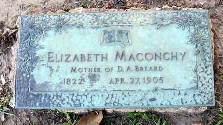 MACONCHY BREARD, ELIZABETH - Ouachita County, Louisiana | ELIZABETH MACONCHY BREARD - Louisiana Gravestone Photos