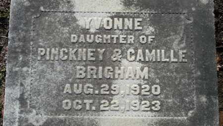BRIGHAM, YVONNE - Ouachita County, Louisiana   YVONNE BRIGHAM - Louisiana Gravestone Photos