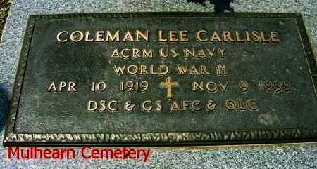 CARLISLE, COLEMAN LEE  (VETERAN WWII) - Ouachita County, Louisiana | COLEMAN LEE  (VETERAN WWII) CARLISLE - Louisiana Gravestone Photos