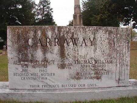 LITTLEPAGE CARRAWAY, ALICE - Ouachita County, Louisiana | ALICE LITTLEPAGE CARRAWAY - Louisiana Gravestone Photos