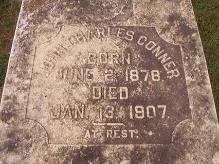 CONNER, JOHN CHARLES (CLOSE UP) - Ouachita County, Louisiana | JOHN CHARLES (CLOSE UP) CONNER - Louisiana Gravestone Photos