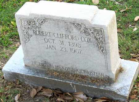 COX, ROBERT CLIFFORD - Ouachita County, Louisiana | ROBERT CLIFFORD COX - Louisiana Gravestone Photos